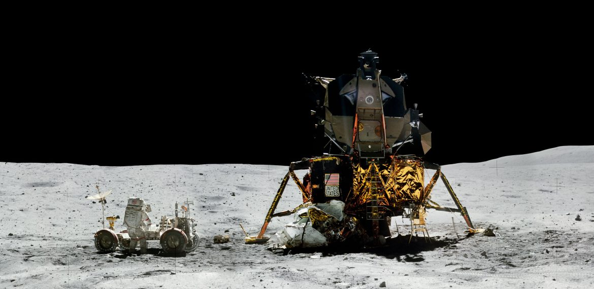 Apollo 16: Crewed Lunar Landing