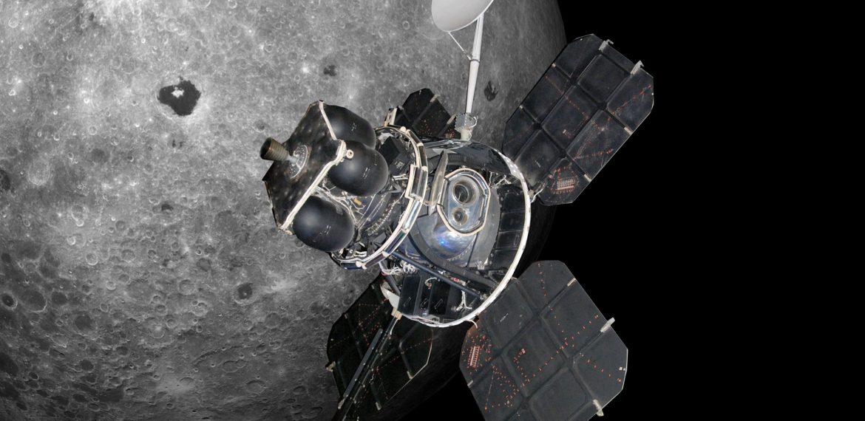 Lunar Orbiter 3: Lunar Orbit