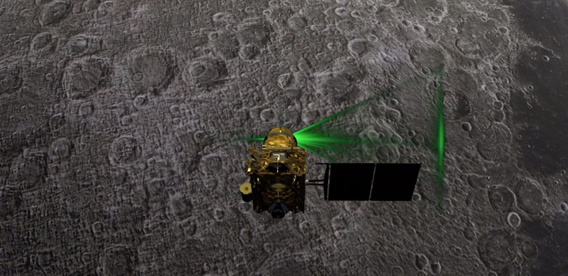 Chandrayaan-2: Lunar Orbit