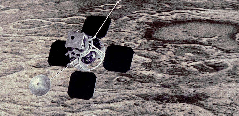 Lunar Orbiter 1: Lunar Orbit