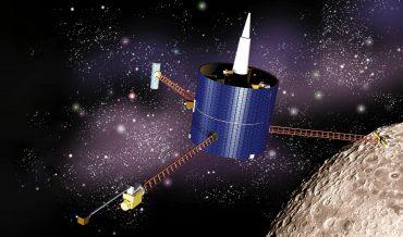 Lunar Prospector: Lunar Orbit